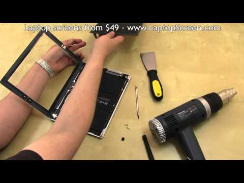 iPad 3 Screen Replacement (digitizer and LCD removal and installation)