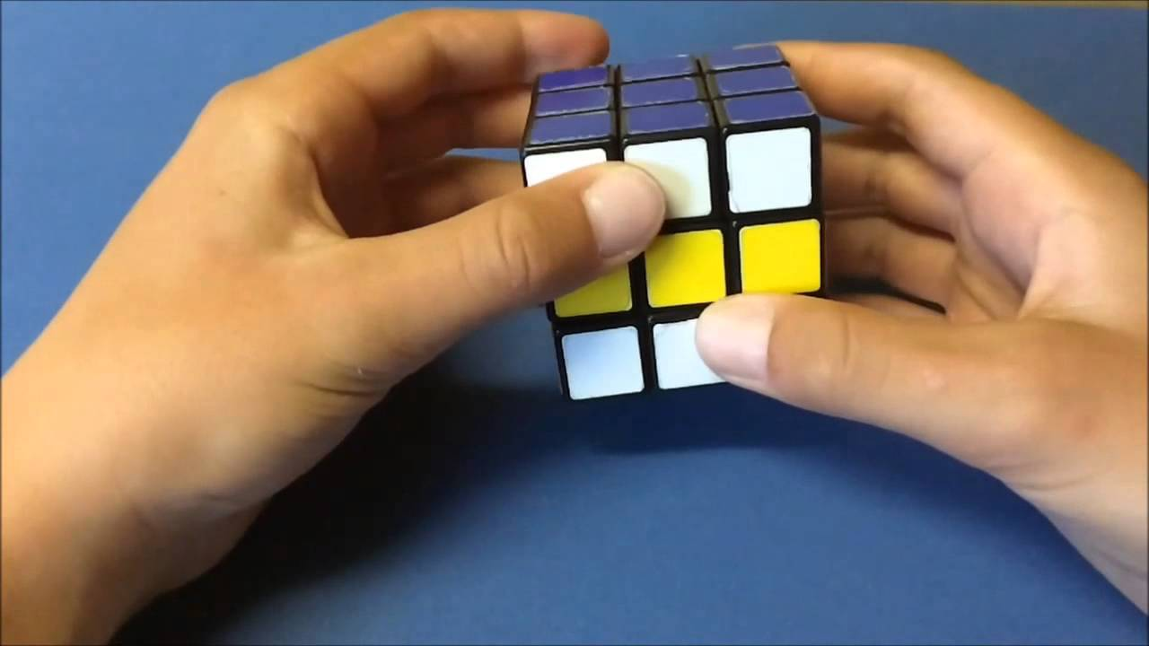 d20686371576c Tutorial- How to Make the Checkerboard Pattern on a 3x3 Rubik s Cube ...
