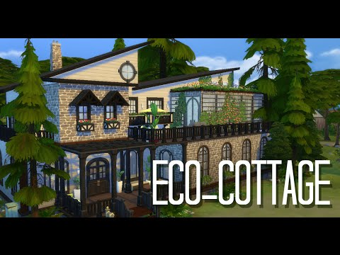 Eco-Cottage Speed Build - The Sims 4
