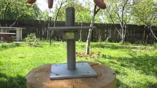 видео Компенсаторы усадки. Купите! Они нужны для срубов и деревянных домов из бруса, бревна