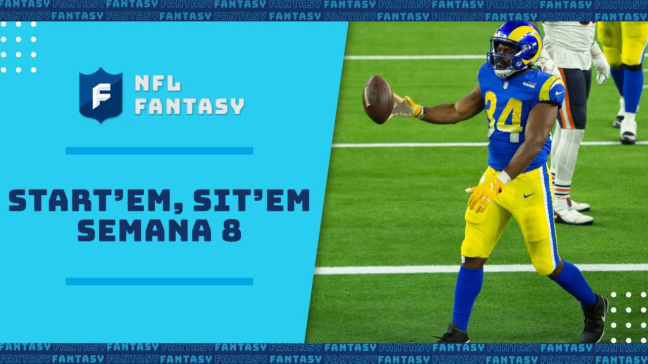Start'em Sit'em: Semana 8. Los jugadores que te harán ganar en tus Fantasy | Fantasy NFL en Español