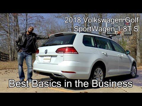 2018 Volkswagen Golf SportWagen 1.8T S - Best Basics in the Business