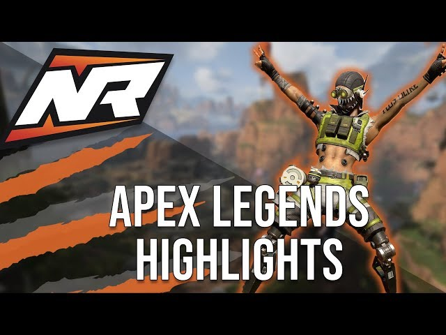 nerdRage APEX LEGENDS Best plays & moments | Kills from Pro League