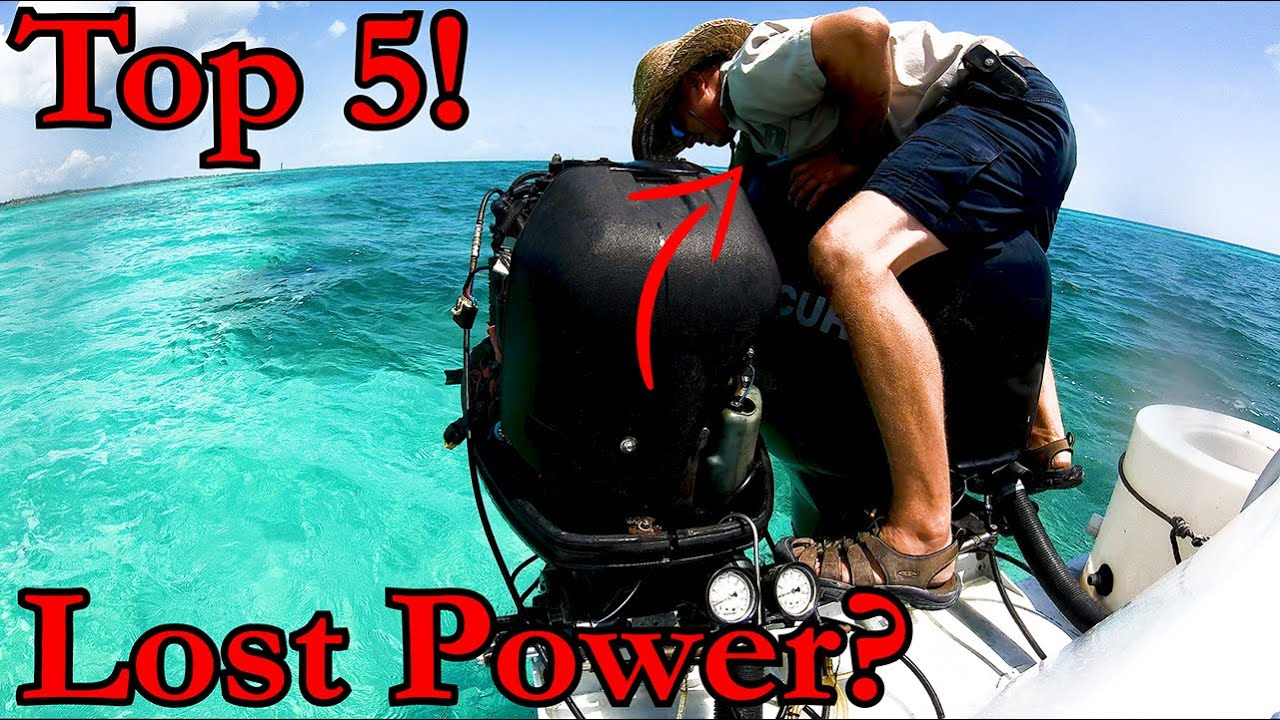 5 Reasons Boats LOSE POWER!!!