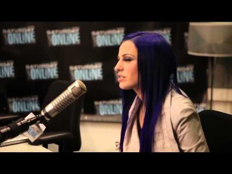 Cher Lloyd At Saturday Night Online Studios