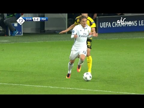 Luka Modric vs Borussia Dortmund Away (27/09/2016) HD 1080i