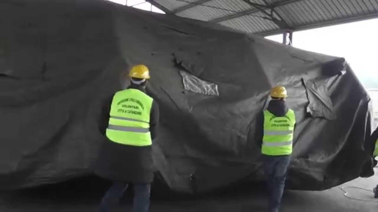 Tenda Da Campo.Protezione Civile Corso Montaggio Tenda Da Campo Video Realizzato Da Rosario Fittante