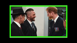 Tom Hardy Just Opened Up About His Friendship With Prince Harry
