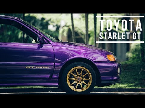 Wheels On Media | Toyota Starlet GT
