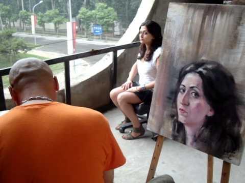 Beijing Huantia art city, Liu Wei Master