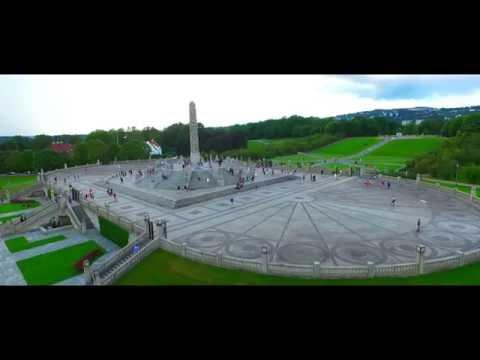 Oslo life./Frogner park, Opera house.
