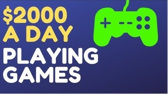 Earn Real Money Playing Games For FREE (PayPal Deposits)
