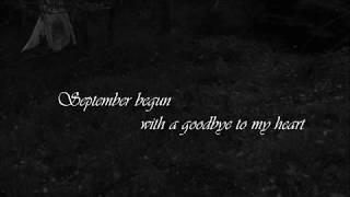 Draconian - September Ashes {Lyrics}