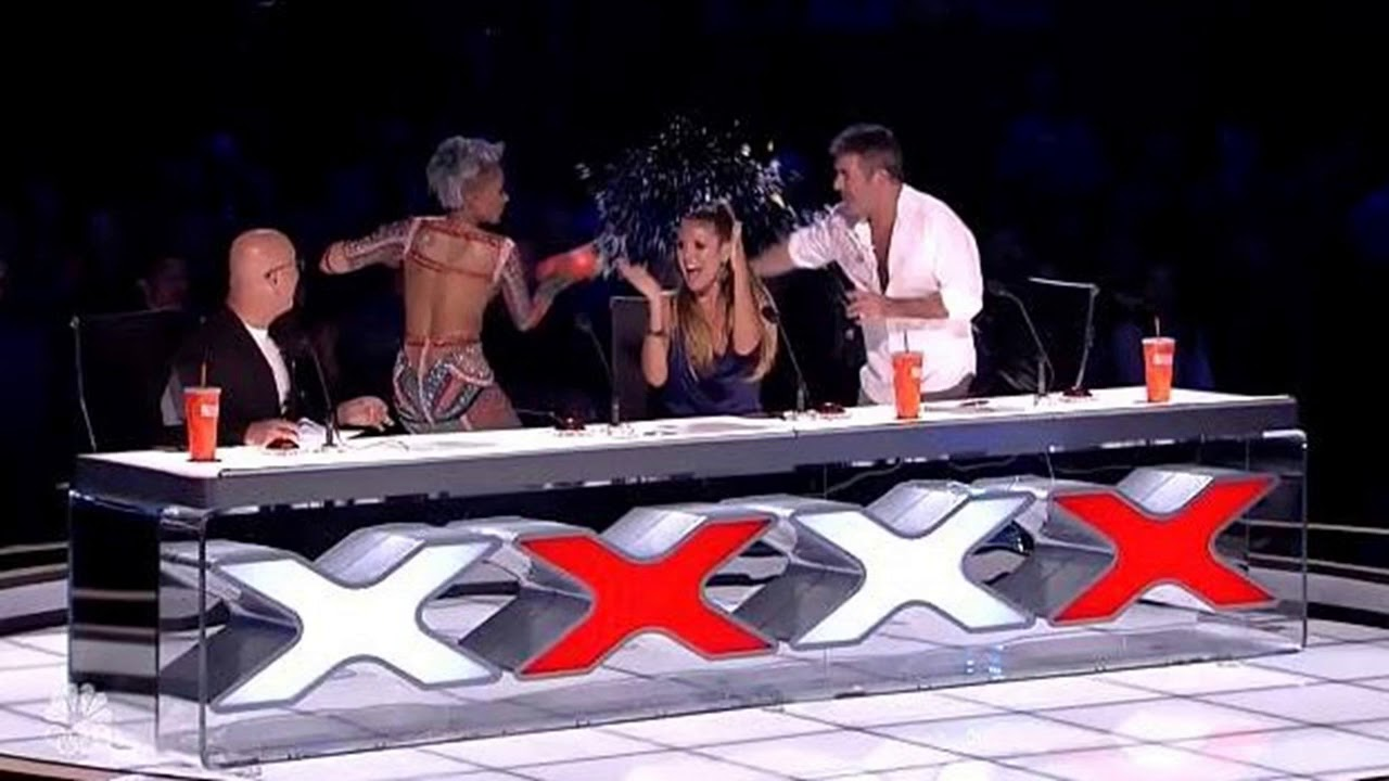 Mel B Storms Off Americas Got Talent After Joke About Her