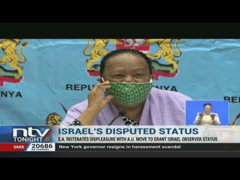 South Africa objects AU's move to grant Israel observer status
