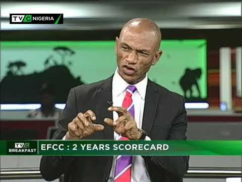 TVC Breakfast Nov. 20th | EFCC : 2 years scorecard