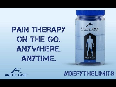 Arctic Ease. Pain Therapy On The Go. AnyWhere, AnyTime.