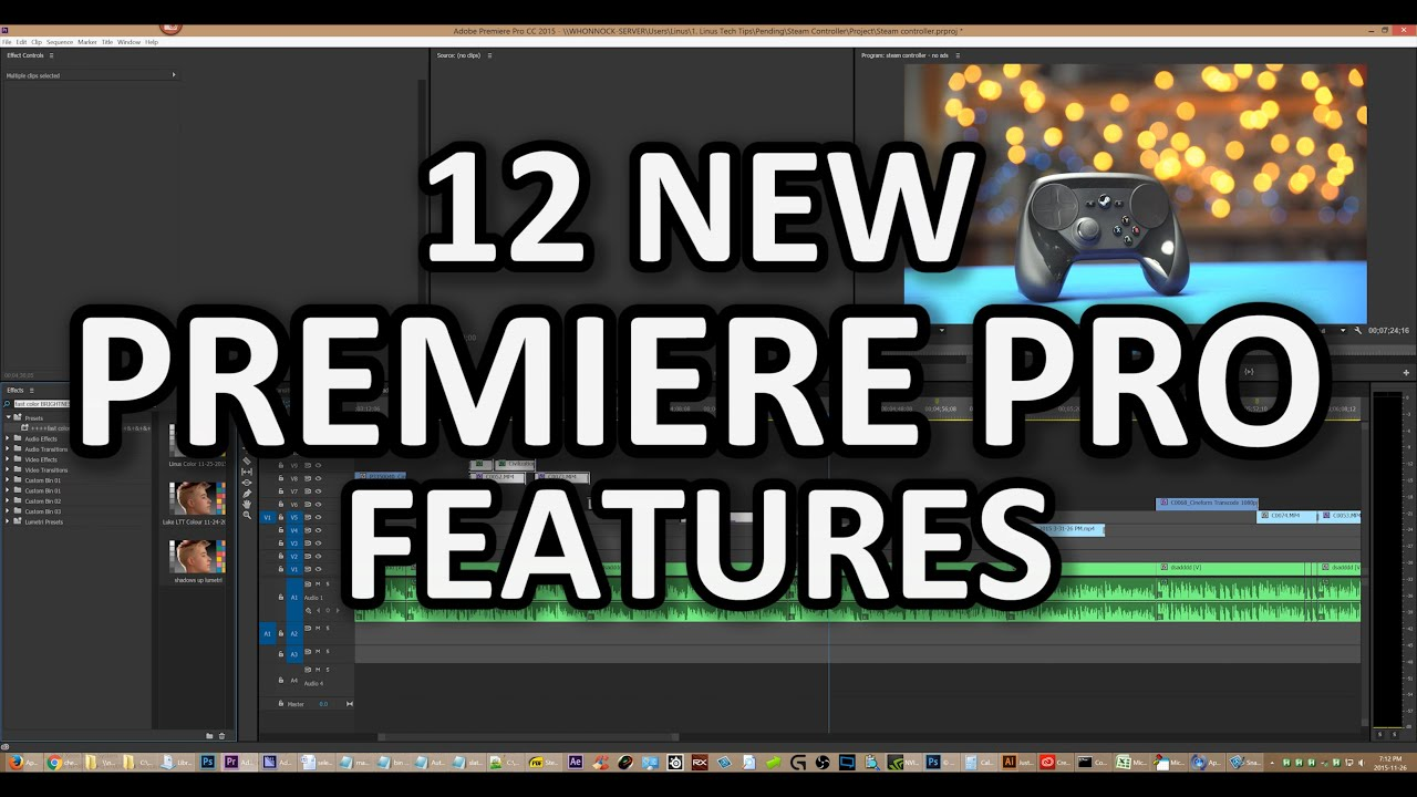 bf055ba2a88904 Several magical new features for Premiere Pro! Why don t these already  exist