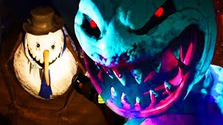 KILLER SNOWMAN ATTACKS! || Frosty Nights - FNAF Style Horror (Part 1)