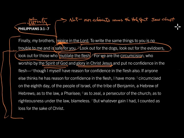 Philippians 3:2–7 // Morality Minus Jesus Damns Us