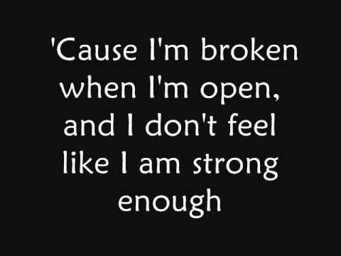 Seether ft. Amy Lee - Broken (lyrics)