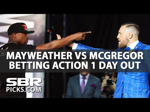 Mayweather vs McGregor | Vegas Betting Action from CG Technology 2017