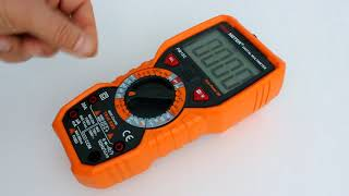 PM18C мультиметр PEAKMETER, обзор функциональности
