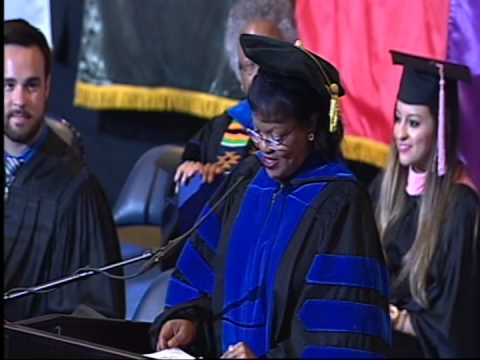 University of Memphis Commencement Ceremony, August 10, 2014