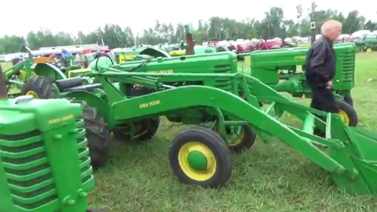 John Deere Tractor Shows : Bruce county heritage tractor show john deere feature