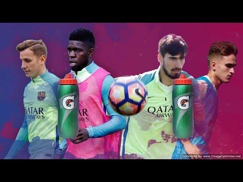 FC Barcelona: The bottle-goal challenge #1