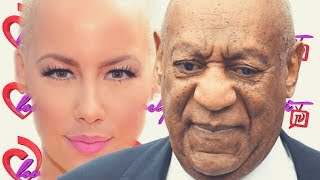Bill Cosby Falls Down Stairs & Has A Hot Dog Bun Thrown At Him+Amber Rose Wishes Him Death