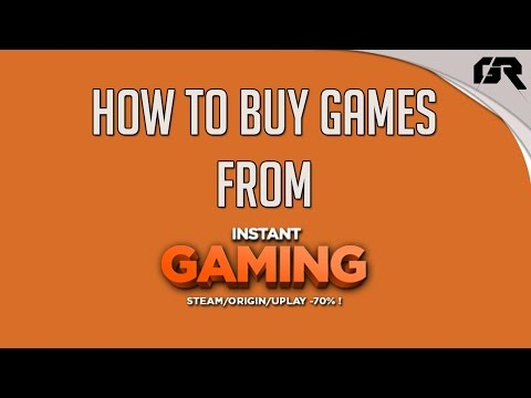 Πως Αγοράζω Φτηνά Παιχνίδια Απο Instant Gaming (how to buy cheap games from InstantGaming)