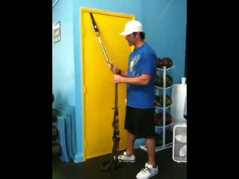 Using The Trx Door Anchor Youtube