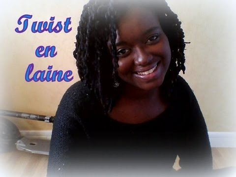 Bien connu 6]♧ Coiffure avec laine 100% acrylique / Yarn hairstyle ♧ - YouTube NY07