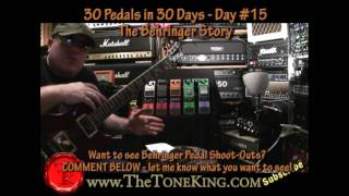 Day 15 - 30 Pedals in 30 Days - Largest MFR of pedals?  The Behringer Story.  Winter NAMM '10 2010