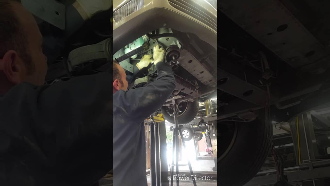 2000 2005 Cadillac Deville Remove And Install Alternator