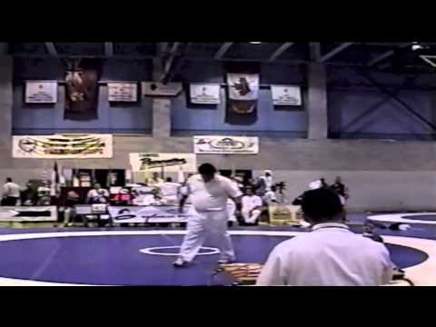 2000 Junior National Championships: ? kg Alexis Roumanis vs. Unknown