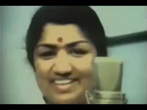 R D Burman Live Recording Clip With Lata Mangeshkar