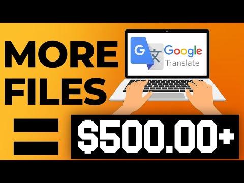 EARN $500+ Everyday Using Google Translator (FREE Worldwide) (Make Money Online 2021)
