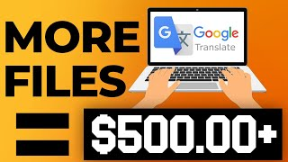 Google Translator: Earn $500+ per Day (Free Worldwide) (Make Money Online in 2021). thumbnail