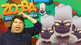 POSTAO SAM MAJMUN!!! ZOOBA (Zoo Battle arena)