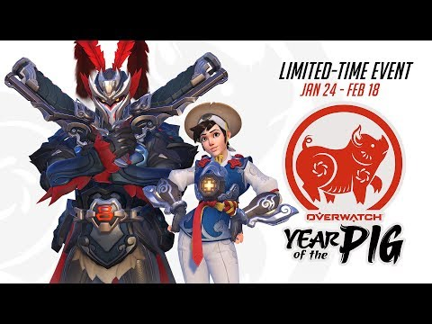 Evento de temporada de Overwatch  Ano Novo Lunar 2019 thumbnail