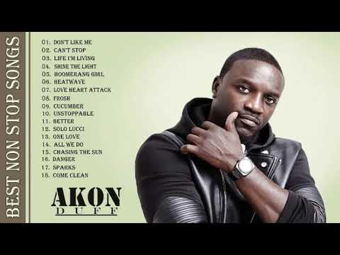 Top 15 Akon Greatest Hits | The Very Best Of Akon Playlist [Music Cover]
