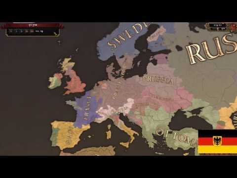 Europa Universalis IV Germany Timelapse