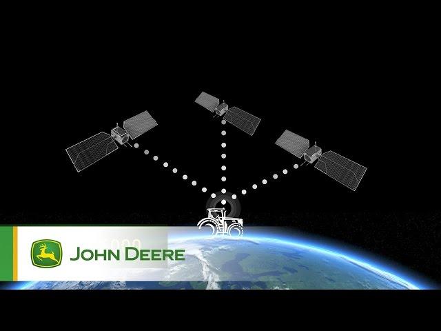 Récepteur StarFire 6000 John Deere – 3 satellites