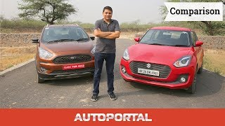 Ford Freestyle vs Maruti Suzuki Swift Comparison - Autoportal