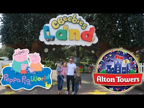 Cbeebies Land, Alton Towers With Hotel Tour | Family Theme Park Vlog | New Rides At Peppa Pig World