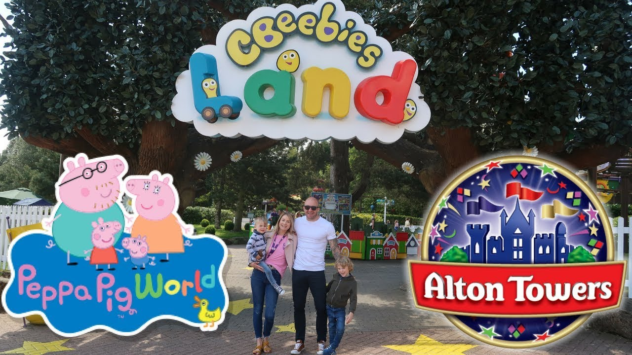Cbeebies Land Alton Towers With Hotel Tour Family Theme Park Vlog New Rides At Peppa Pig World