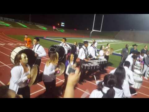 Waco uhs Drumline vs Rudder Rangers Drumline Battle