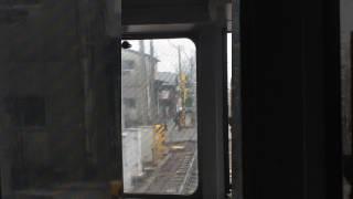 名古屋本線 加納駅踏切故障